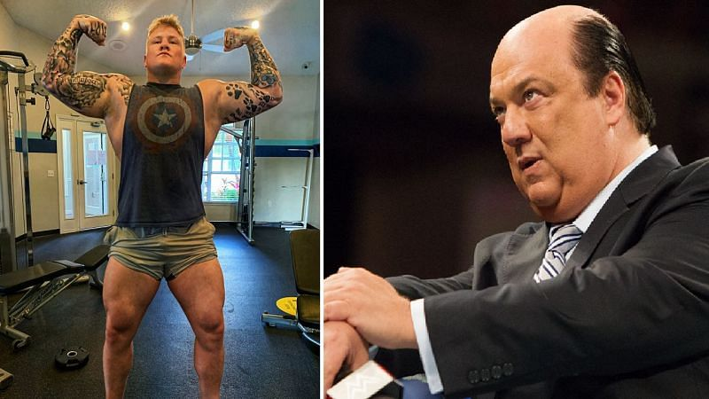 Parker Boudreaux and Paul Heyman