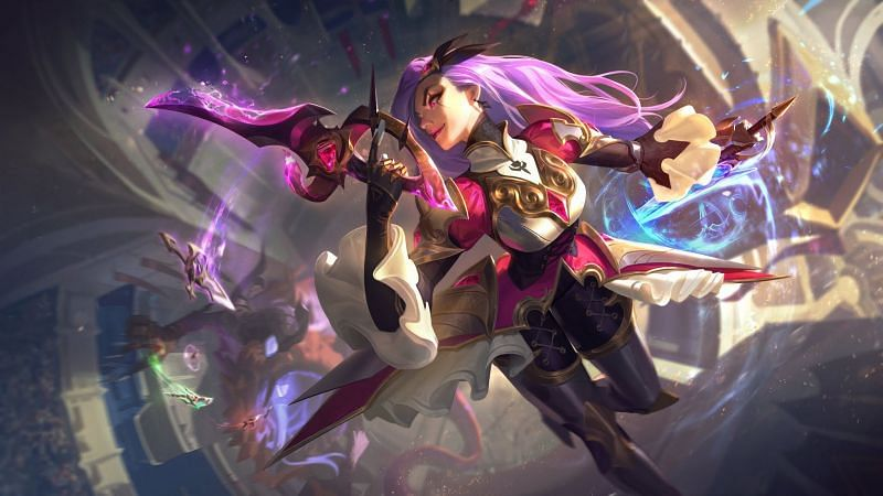 The Battle Queen Katarina skin from the Battle Queens 2020 in-game event (Image via Riot Games)