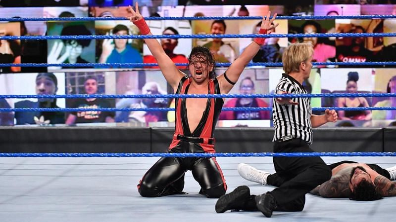 Shinsuke Nakamura was victorious again