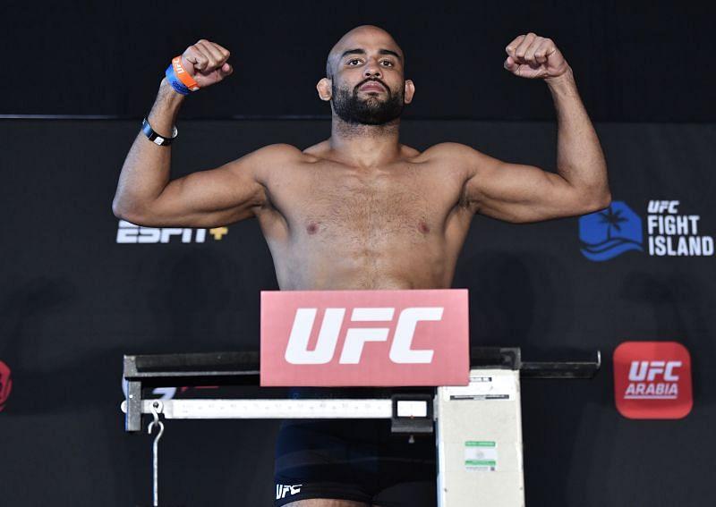 UFC welterweight Warlley Alves