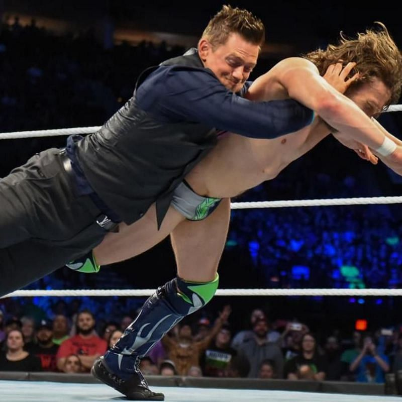 The Miz and Daniel Bryan in WWE