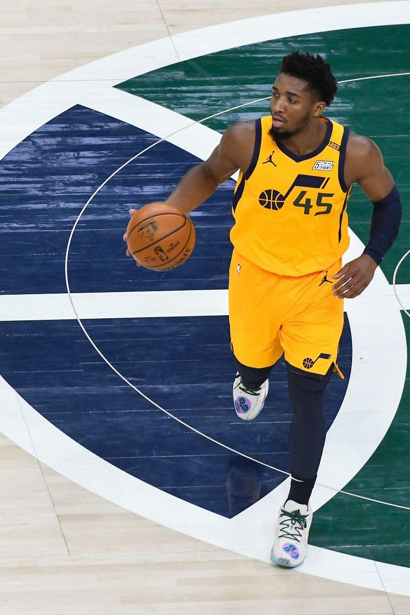NBA star Donovan Mitchell