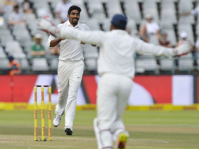Jaspriy Bumrah is the only Indian bowler to take a five-wicket haul while making his debut in a series in South Africa