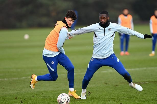 Jude Soonsup-Bell was asked to train with the Chelsea first-team ahead of their game against Morecambe