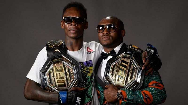 Israel Adesanya and Kamaru Usman are two of the UFC