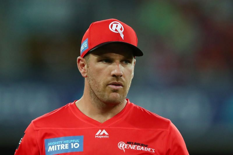 Aaron Finch and the Melbourne Renegades are enduring another poor BBL season.