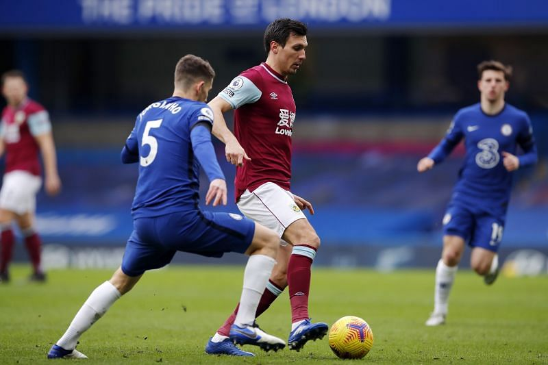 Chelsea registered a victory over Burnley.