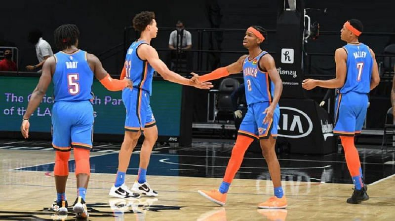 The Thunder are currently focused on growing their young core [Image: NBA.com]