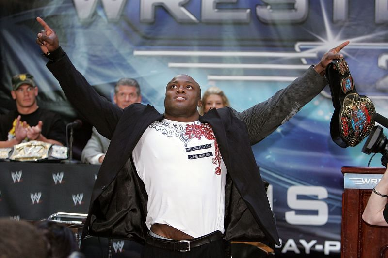 Bobby Lashley went 15-2 as a mixed martial artist