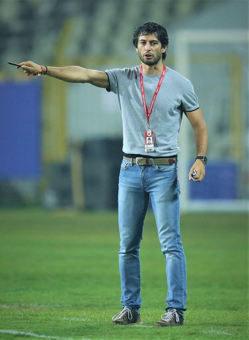 FC Goa's coach Juan Ferrando expected his side to pick up three points against Kerala Blasters (Image Courtesy: ISL Media)