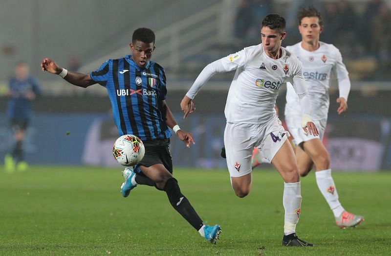 Amad Traore in action for Atalanta