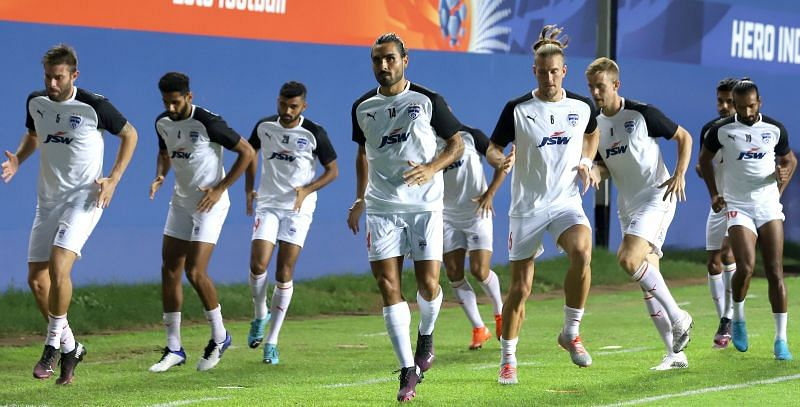 Bengaluru FC extended their winless run in the ISL to six matches (Image Courtesy: ISL Media)