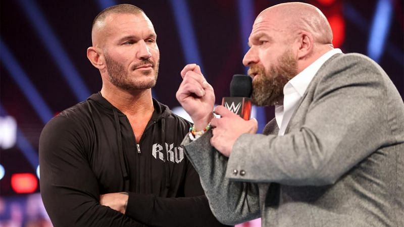 Triple H and Randy Orton
