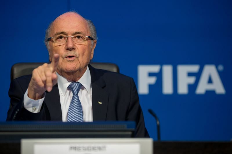 Sepp Blatter made disparaging comments about Cristiano Ronaldo.