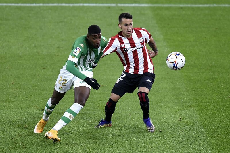 Emerson in action against Athletic Bilbao