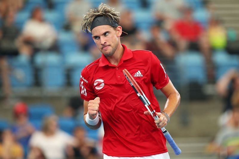 Dominic Thiem at the ATP Cup