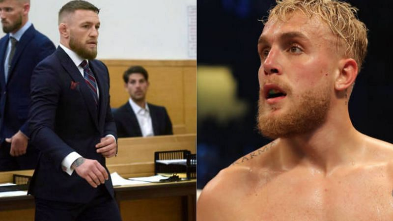 Has Conor McGregor resorted to legal action against Jake Paul?