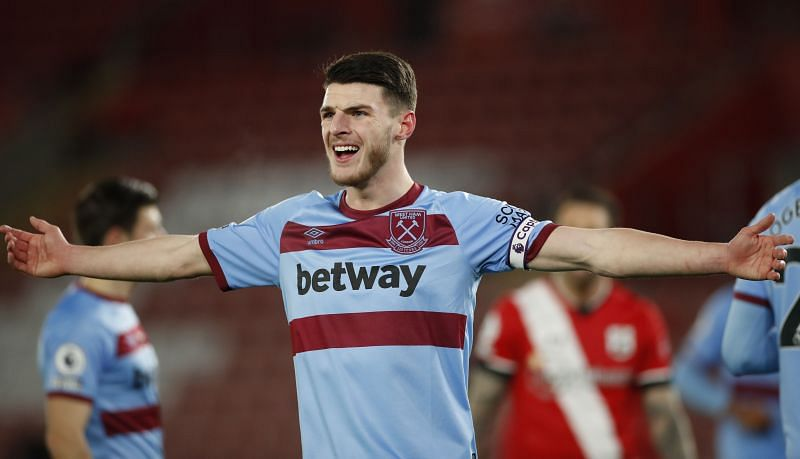 West Ham United are refusing to budge on their valuation of Declan Rice