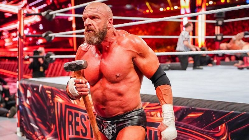 The rumor backstage at WWE RAW is that Triple H will compete tonight on the show.
