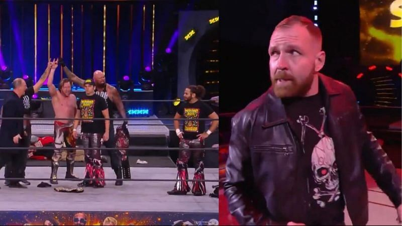 Has Kenny Omega found two more allies in The Young Bucks? Jon Moxley has returned