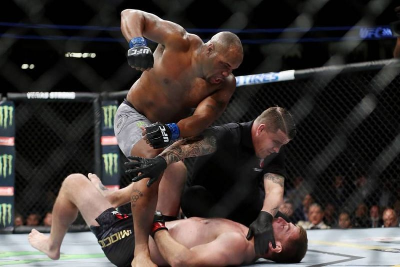 Daniel Cormier knocked out Stipe Miocic to become the UFC