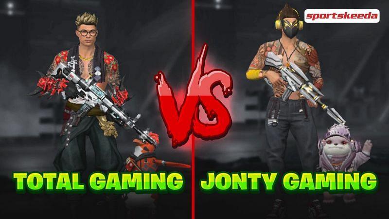 Ajjubhai (Total Gaming) vs Jonty Gaming