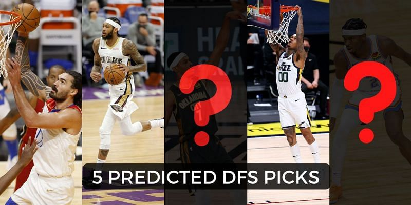 Brandon Ingram and Jordan Clarkson are among the top NBA DFS pick for today