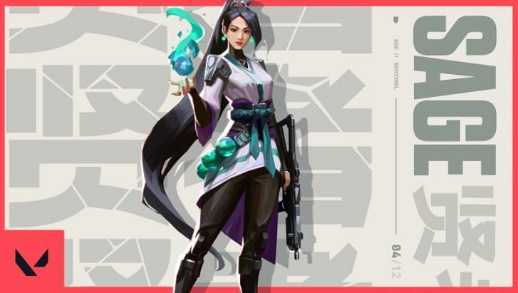 Sage in Valorant (Image via Riot Games)