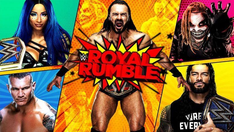 The Royal Rumble pay-per-view will kick off 2021 with a bang