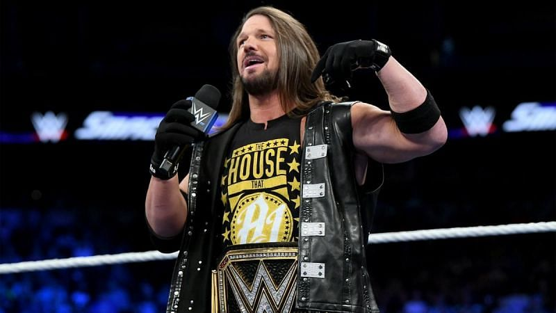 AJ Styles is a two-time WWE Champion.
