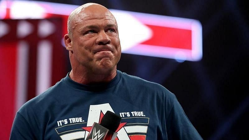Kurt Angle did not appear on RAW as advertised