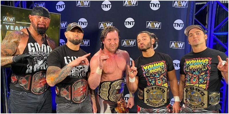 Bullet Club reunited on this week