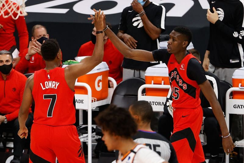 The Toronto Raptors and the Portland Trail Blazers will face off at the Moda Center on Monday night