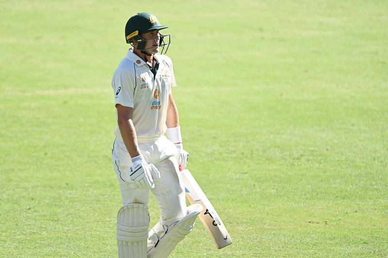 Marnus Labuschagne lost his wicket to T Natarajan
