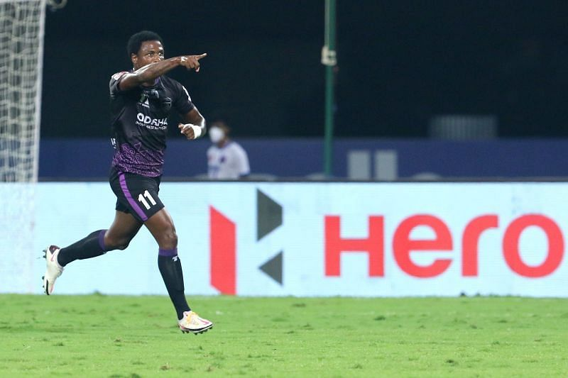 Odisha FC will rely on Diego Mauricio to score goals. (Image: ISL)
