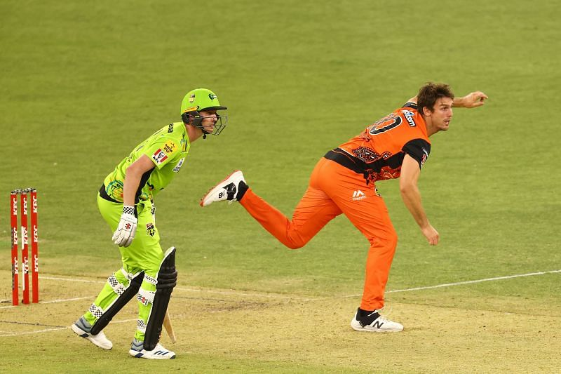 Perth Scorchers are expecting Mitchell Marsh to play later in the tournament.