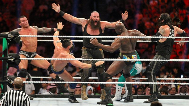 क्या ब्रॉन स्ट्रोमैन 2021 Royal Rumble में ब्रॉक लैसनर के सबसे ज्यादा एलिमिनेशन का रिकॉर्ड तोड़ पाएंगे?