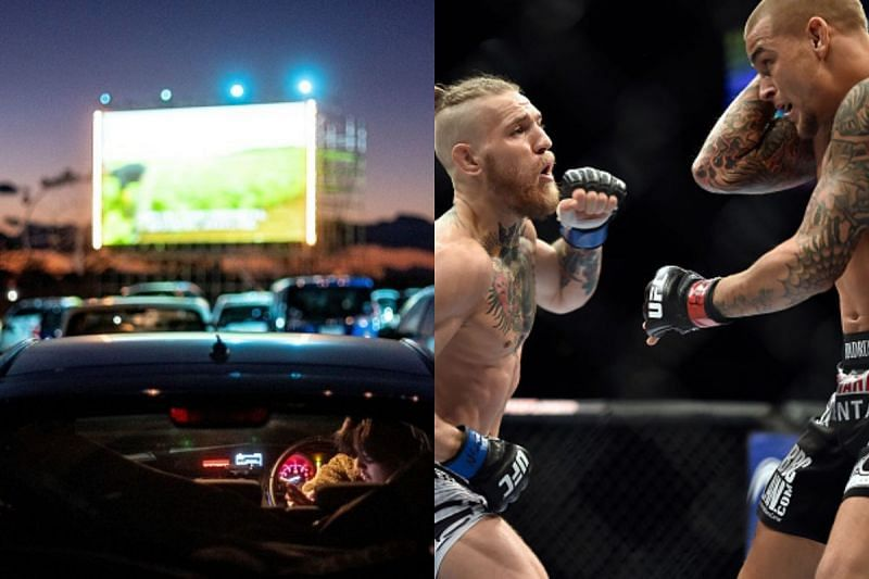 UFC 257 will be distributed at drive-in theaters