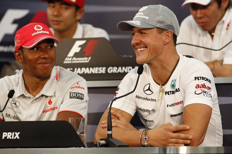 Lewis Hamilton is on the verge of beating Michael Schumacher