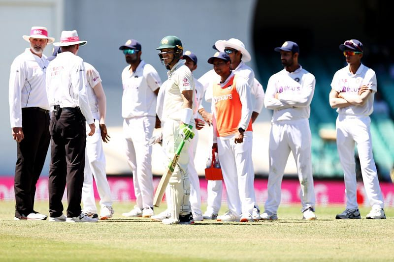 Play was halted on Day 4 after Mohammed Siraj complained about alleged racism from the SCG crowd.