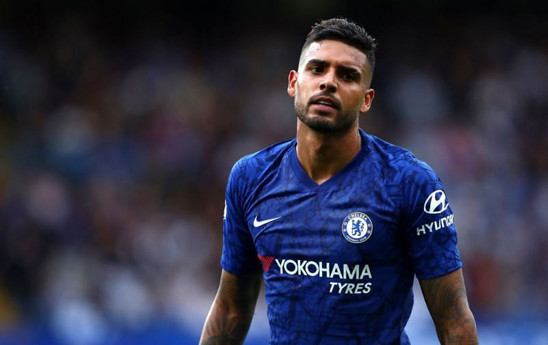 Emerson is presently Chelsea manager Frank Lampard
