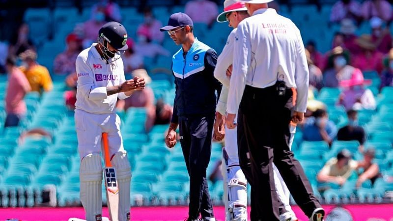 Ravindra Jadeja injured himself on Day 3 of the Sydney Test