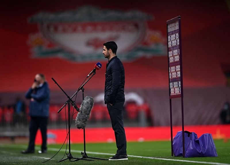 Mikel Arteta will hope his side can retain the FA Cup.
