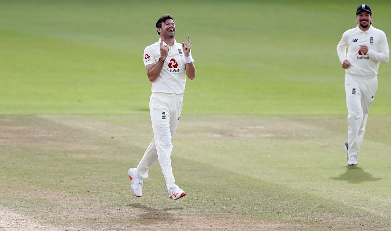 James Anderson is the first fast bowler to claim 600 Test wickets.