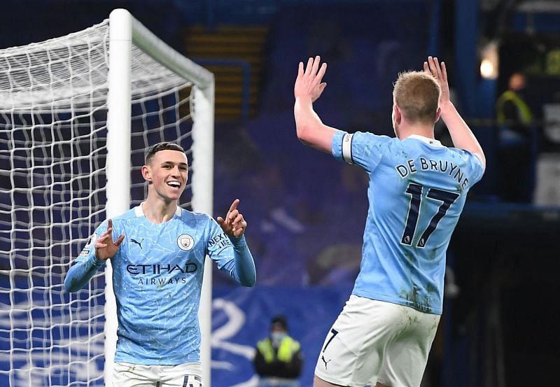 Foden reaffirmed his status as one of the best young players in the league.e