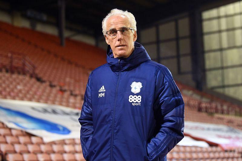 Cardiff City coach Mick McCarthy