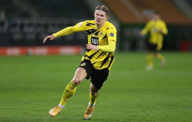 Borussia Dortmund superstar Erling Haaland