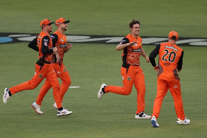 Mitch Marsh and the Perth Scorchers have found their form in the BBL