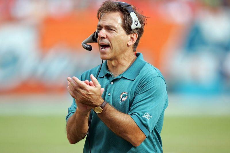 Nick Saban as Miami Dolphins Head Coach