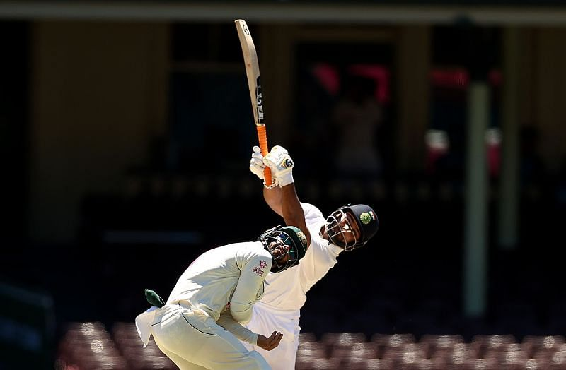 Rishabh Pant launched an all-out attack against Nathan Lyon during his 97-run knock
